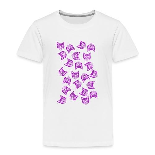 Magenta Mollys - Lasten premium t-paita