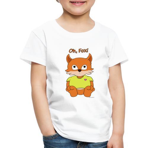 Oh, Fox! Cute mug - Kids' Premium T-Shirt