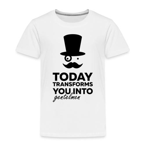 Gentleman today ? - T-shirt Premium Enfant