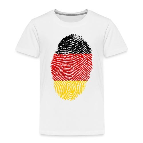 GERMANY FINGERPRINT - Kids' Premium T-Shirt