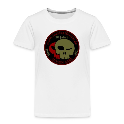 TF-Skull_b - Kinder Premium T-Shirt
