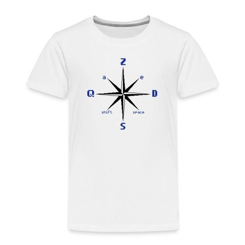 Boussole ZQSD - T-shirt Premium Enfant