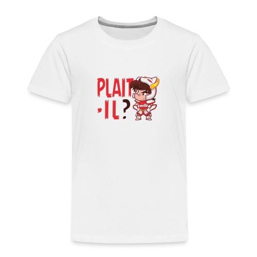 Seyar Plaît il rouge - T-shirt Premium Enfant