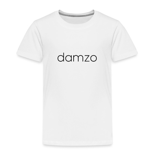 Damzo Simple 2 Sided Text Tee - Kids' Premium T-Shirt