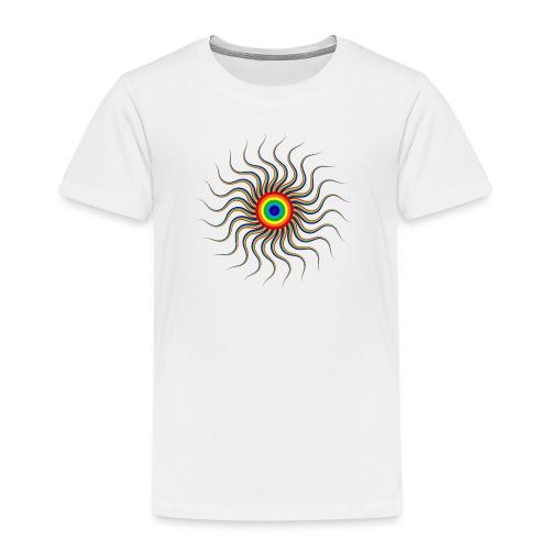 Abstract sun tote bag - Kids' Premium T-Shirt