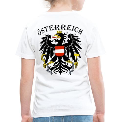 Österreich Österreich Adler Wappen Patriot Austria - Kinder Premium T-Shirt
