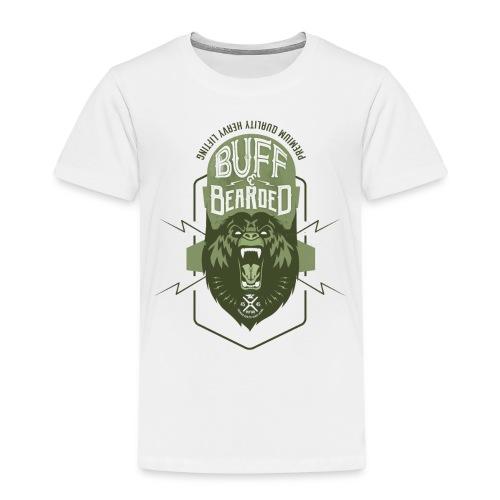 HVYW8 Buff and Bear-ded - Kids' Premium T-Shirt