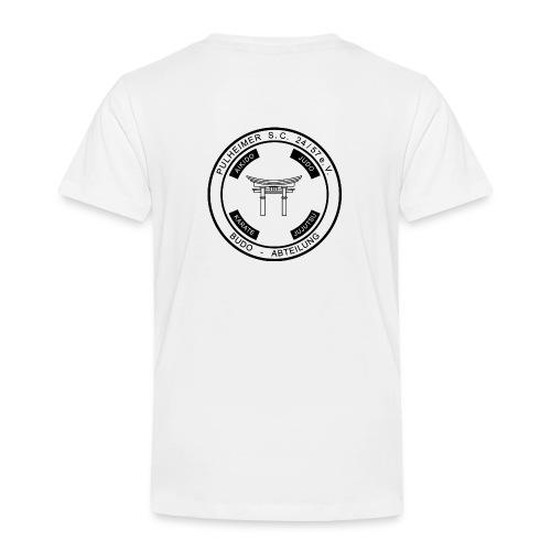 PSC Budo Emblem schwarz png - Kinder Premium T-Shirt