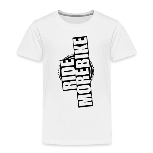 RIDE MORE BIKE Bio-Hoodie - Kinder Premium T-Shirt