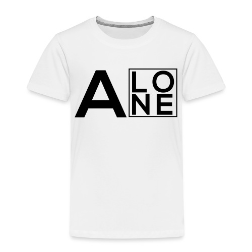 Alone Box Logo - Kids' Premium T-Shirt