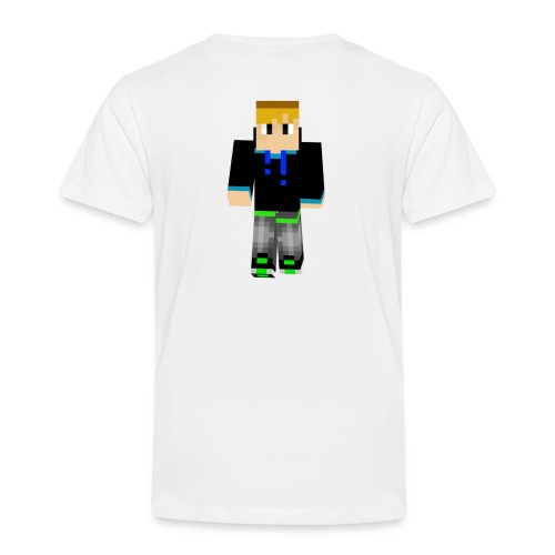 dominikplay 3D 2 png - Kinder Premium T-Shirt