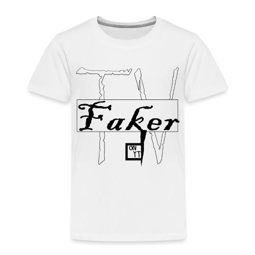 Faker TV on YT png - Kinder Premium T-Shirt