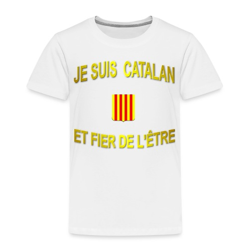 Tee-Shirt supporter du pays CATALAN - T-shirt Premium Enfant