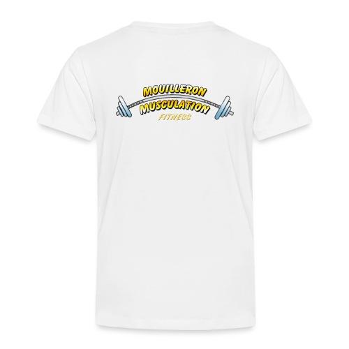 mouilleron muscu logo pour tee shirt 311 - T-shirt Premium Enfant