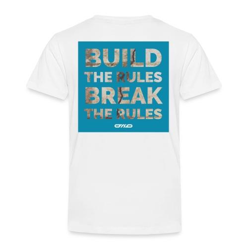 Rules Shirt blau - Kinder Premium T-Shirt