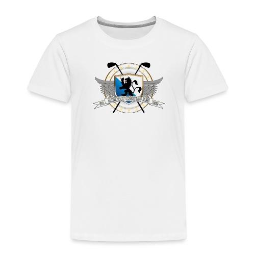 Goldcoast Crossgolf Club Logo - Kinder Premium T-Shirt