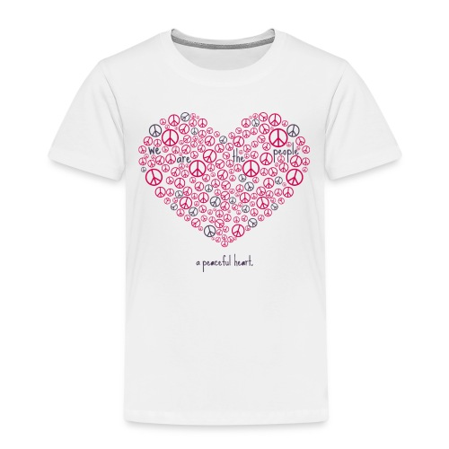 herz pink 2 - Kinder Premium T-Shirt
