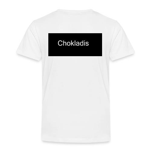 Chokladis Logo - Premium-T-shirt barn