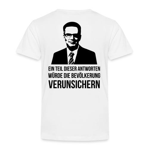 Verunsicherung - Kinder Premium T-Shirt