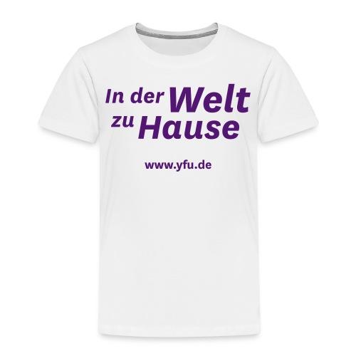 inderweltzuhause spread - Kinder Premium T-Shirt