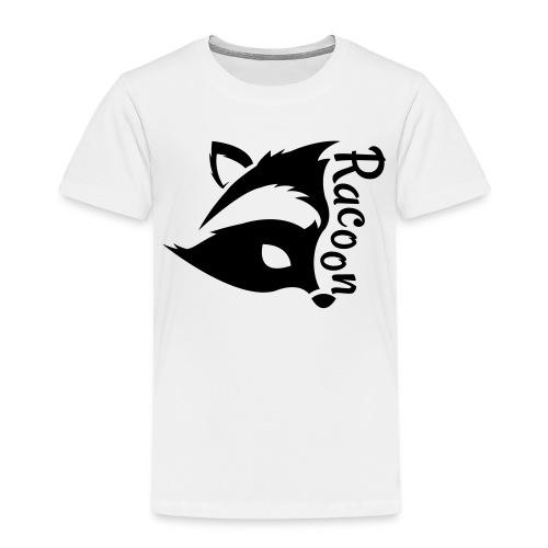 Raccon, Waschbär - Kinder Premium T-Shirt