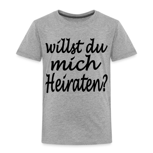 willst du mich heiraten - Kinder Premium T-Shirt