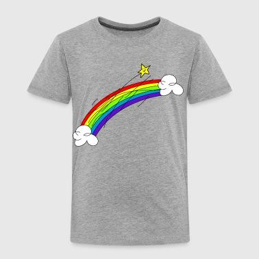 over skyene - Premium T-skjorte for barn