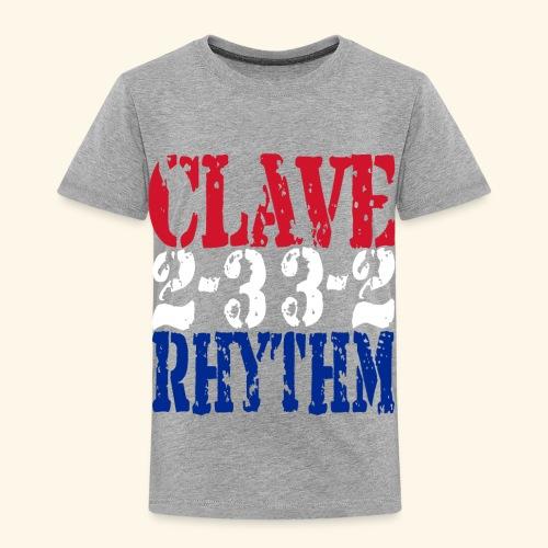 Clave Rhythm Salsa Music Dance Gift T-Shirt - Kids' Premium T-Shirt