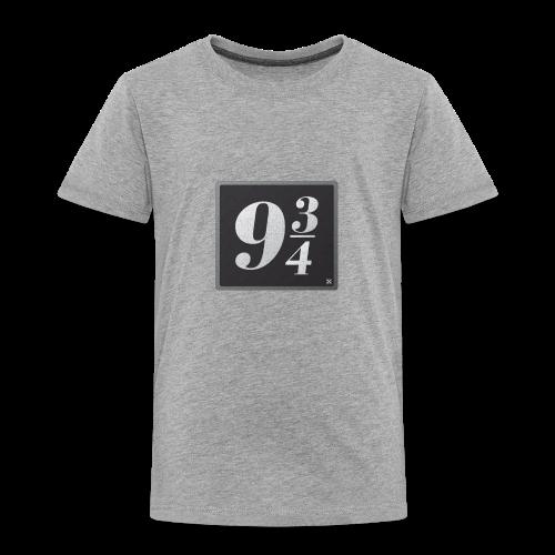 Andén nueve y tres cuartos - Camiseta premium niño