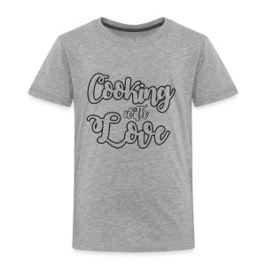 Cook / Chef: Cooking With Love - Premium T-skjorte for barn