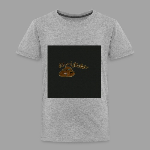 Günni Günter Design Black Background- - Kinder Premium T-Shirt