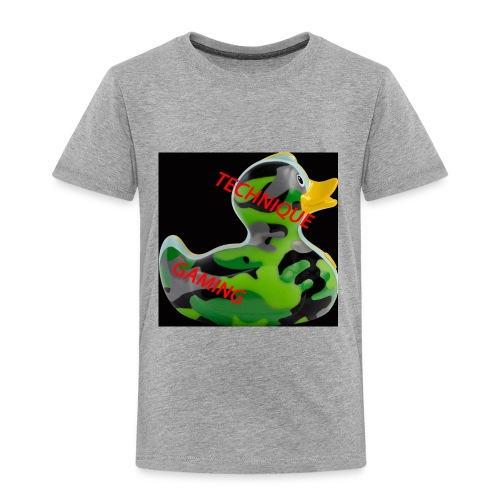 YOUTUBE NAME WITH A CAMO DUCK - Kids' Premium T-Shirt