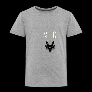 M C Tees NEW Logo on the NEW collection - Kids' Premium T-Shirt