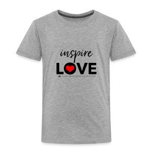 inspire love - Kinderen Premium T-shirt