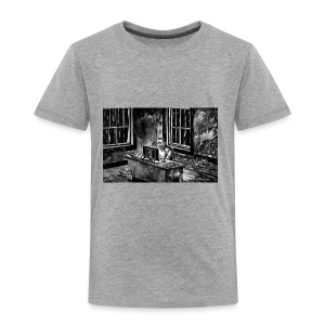 Marc podcasting in the zombie apocalypse - Kids' Premium T-Shirt