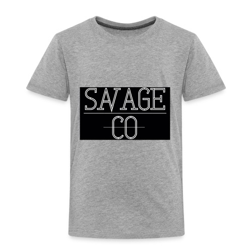SAVAGE CO. - Camiseta premium niño