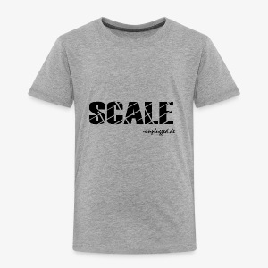 SCALE Logo schwarz - Kinder Premium T-Shirt