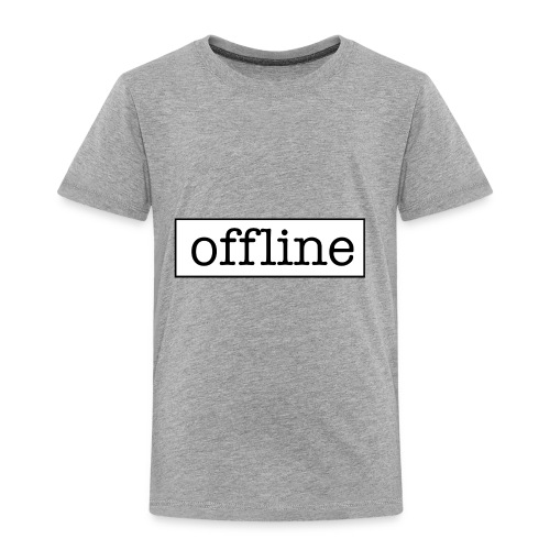 Officially offline - Kinderen Premium T-shirt