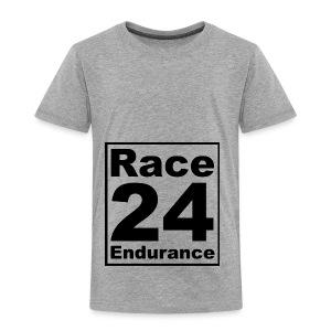 Race24 logo in black - Kids' Premium T-Shirt
