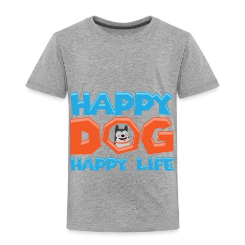 Happy Dog Happy Life - Kinder Premium T-Shirt