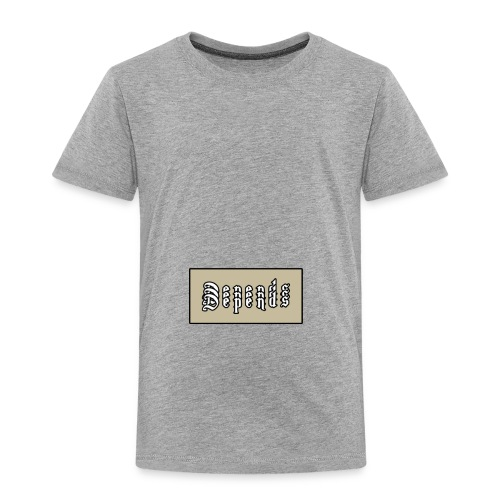 Depends x3 Logo - Premium-T-shirt barn