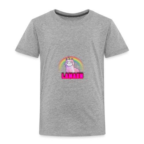 The LLAMA - Børne premium T-shirt