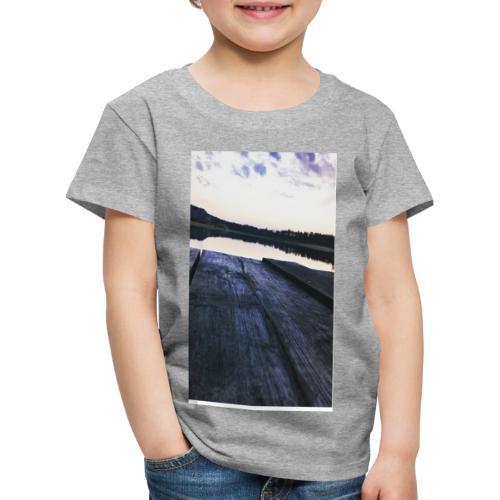 Zachód na roztoczu - Koszulka dziecięca Premium