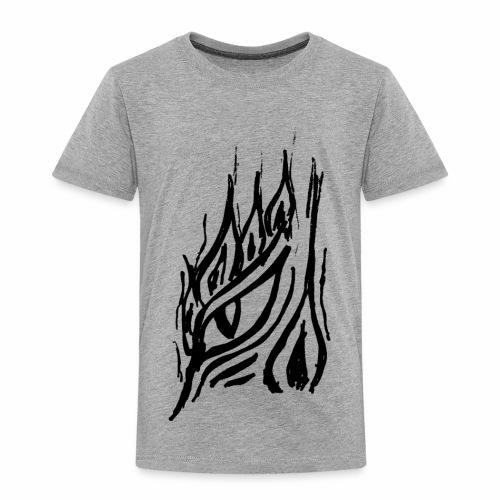 Drachenwächter - schwarz - Kinder Premium T-Shirt