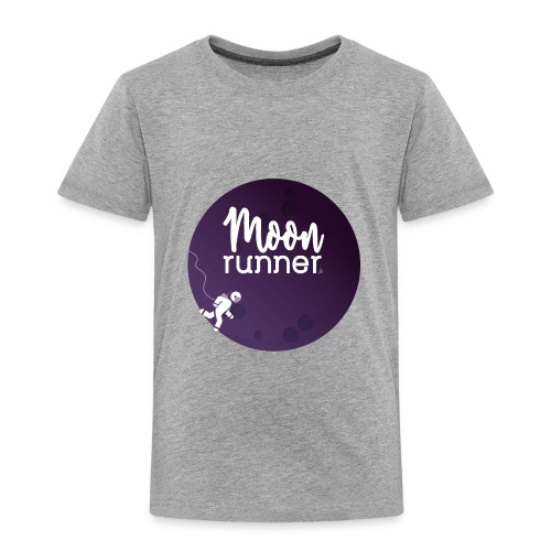 To the moon - Moon Runner + Astronaut solo - T-shirt Premium Enfant