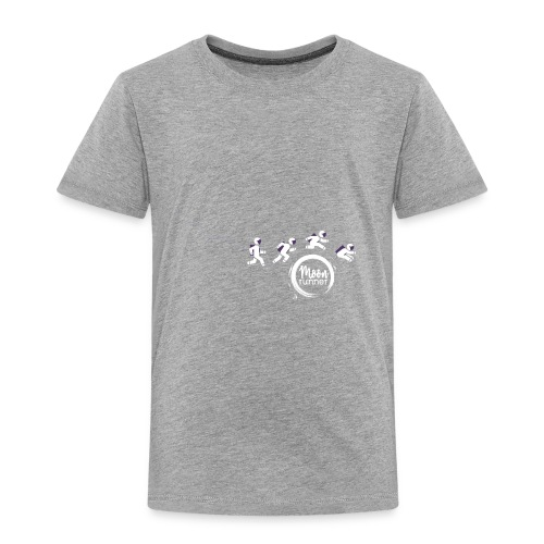 To the moon - Astronaut Moon Runner - T-shirt Premium Enfant
