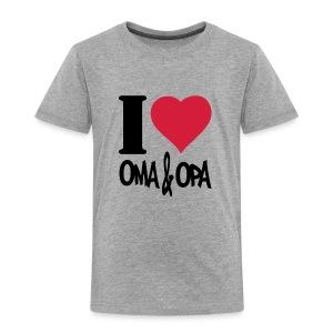 I love Oma & Opa - Kinder Premium T-Shirt
