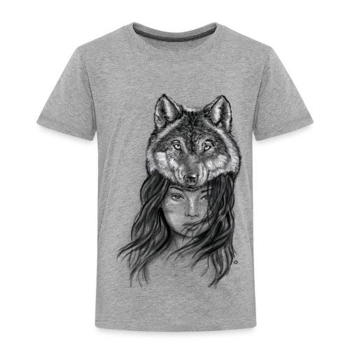Wolfkopf - Kinder Premium T-Shirt
