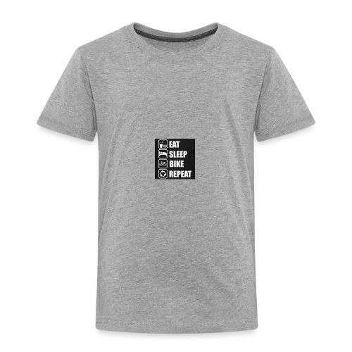 eat sleep bike repeat - T-shirt Premium Enfant