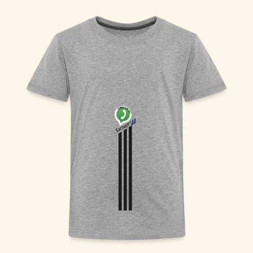 logo strepen - Kinderen Premium T-shirt